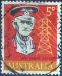 Sellos de Oceania - Australia -  Scott#390 , intercambio 0,20 usd, 5 cents. , 1965