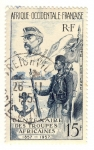 Stamps Africa - Mauritania -  CENTENAIRE DES TROUPES AFRICAINES
