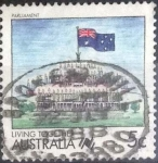 Stamps Australia -  Scott#1057 , intercambio 0,20 usd. , 5 cents. , 1988