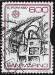 Stamps  -  -  Sellos de San Marino