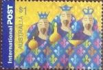 Stamps Australia -  Scott#2318 , intercambio 1,60 usd. , 1 dólar  , 2004