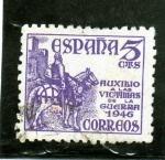 Stamps Europe - Spain -  EL CID - PRO VICTIMAS DE LA GUERRA