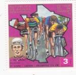Stamps Equatorial Guinea -  TOUR DE FRANCE 69