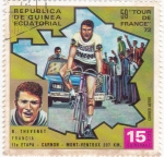 Stamps Equatorial Guinea -  TOUR DE FRANCE 69