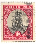 Stamps South Africa -  barco