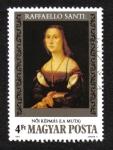 Sellos de Europa - Hungría -  Pinturas de Raffaello Sanzio, La Muta