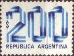 Sellos de America - Argentina -  Scott#1206 , intercambio 0,20 usd. 200 $ , 1978