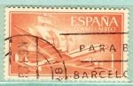 Stamps : Europe : Spain :  Nao Sta Maria (130)