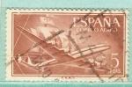 Stamps : Europe : Spain :  Nao Sta Maria (188)