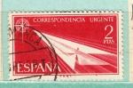 Stamps : Europe : Spain :  Alegoría (190)