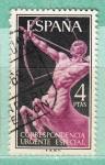 Stamps : Europe : Spain :  Alegoría (191)