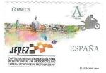 Sellos de Europa - España -  motociclismo, Jerez
