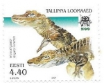 Sellos de Europa - Estonia -  aligator