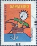 Stamps Brazil -  Scott#2979 , intercambio 0,20 usd , 0,20 R$ , 2005