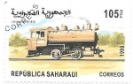 Sellos de Africa - Marruecos -  trenes