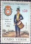 Stamps : Africa : Cape_Verde :  Scott#330 , intercambio 0,25 usd , 0,50 $ , 1965