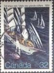 sellos de America - Canadá -  Scott#1012 , intercambio 0,20 usd , 32 cents. , 1984