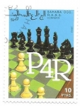 Stamps Morocco -  ajedrez