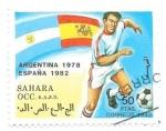 Sellos de Africa - Marruecos -  mundiales de fútbol
