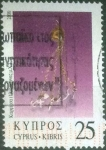 Stamps : Asia : Cyprus :  Scott#948 , intercambio 0,95 usd. , 25 cents. , 2000
