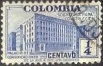 Sellos de America - Colombia -  Scott#RA8 , intercambio 0,20 usd. , 0,25 cents. , 1940