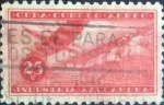 Sellos de America - Cuba -  Scott#C101 , intercambio 0,20 usd. , 25 cents. , 1954