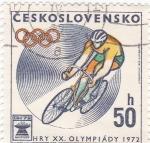 Stamps Czechoslovakia -  OLIMPIADA MUNICH'72