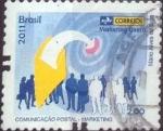 Sellos de America - Brasil -  Scott#xxxx , intercambio , 2,00 usd. , 2,00 R$ , 2011