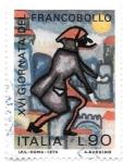 de Europa - Italia -  día del sello