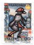 sello : Europa : Italia : día del sello