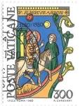 sello : Europa : Vaticano : San Alberto Magno