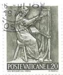 sello : Europa : Vaticano : oficios