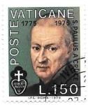 Stamps Vatican City -  San Pablo de la Cruz