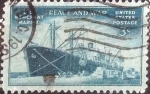 Stamps United States -  Scott#939 , intercambio 0,20 usd , 3 cents. , 1946