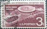 Sellos de America - Estados Unidos -  Scott#1104 , intercambio 0,20 usd , 3 cents. , 1958