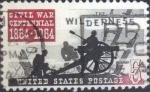 Sellos de America - Estados Unidos -  Scott#1181 , intercambio 0,20 usd , 5 cents. , 1961