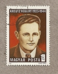 Stamps Hungary -  Robert Kreutz