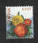 Stamps : Europe : Latvia :  979 - Flores