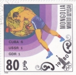 Sellos de Asia - Mongolia -  OLIMPIADA MOSCÚ'80