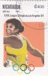 Stamps : America : Nicaragua :  OLIMPIADA DE LOS ANGELES