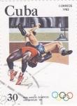 Stamps : America : Cuba :  OLIMPIADA DE LOS ANGELES