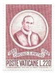Stamps Vatican City -  círculo de San Pedro