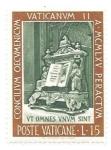 Stamps Vatican City -  Concilio Vaticano II