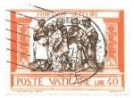 sello : Europa : Vaticano : mortvos sepelire