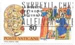 sello : Europa : Vaticano : San Benedicto