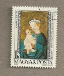 Stamps Hungary -  Virgen con el Niño