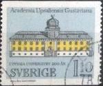 Sellos de Europa - Suecia -  Scott#1208 , intercambio 0,20 usd , 1,10 krona , 1977