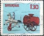 sellos de Europa - Suecia -  Scott#1270 , intercambio 0,20 usd , 1,30 krona , 1978