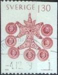 Stamps Sweden -  Scott#1305 , intercambio 0,20 usd , 1,30 krona , 1979