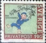 Stamps Europe - Sweden -  Scott#1636 , intercambio 0,25 usd , 1,90 krona , 1987